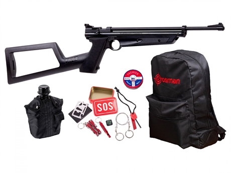 Crosman Doomsday Bug Out Air Rifle Kit 2.0